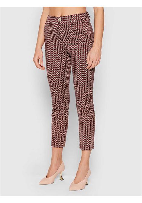Diamond chino trousers  LIU JO | Trousers | WF1184J1657S9175