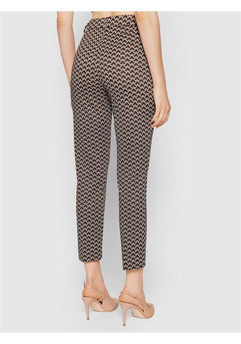 Diamond chino trousers  LIU JO | Trousers | WF1184J1657S9203
