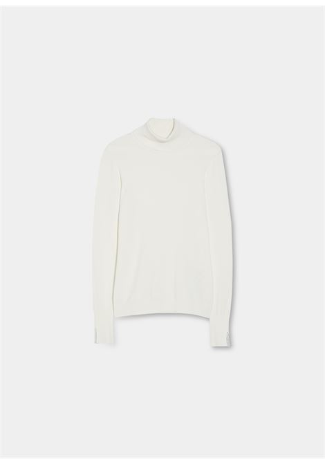 Turtleneck strass  LIU JO | knitwear | WF1428MA49I10701