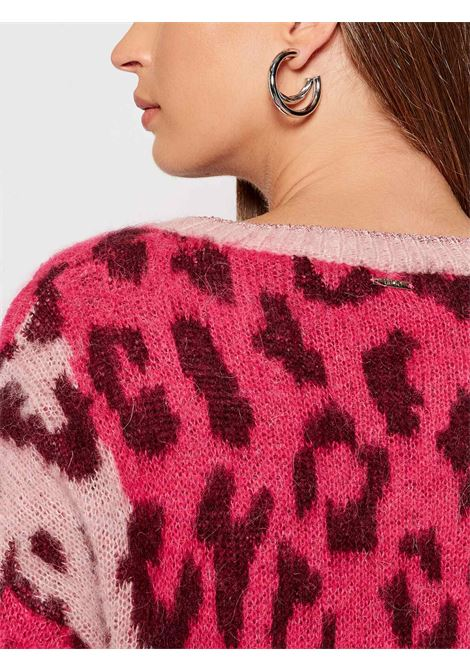 sweater animapink LIU JO | knitwear | WF1458MA89AS9284