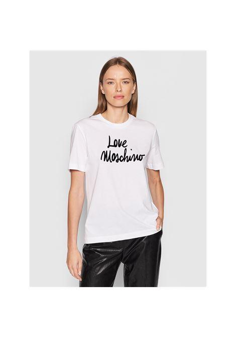logo t-shirt LOVE MOSCHINO | T-Shirts | W4H0618M3876A00