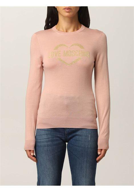 Sweater heart  LOVE MOSCHINO | knitwear | WS87G10X1376L62