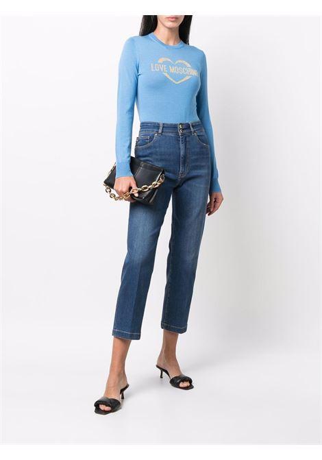 Sweater Heart  LOVE MOSCHINO | knitwear | WS87G10X1376Y08