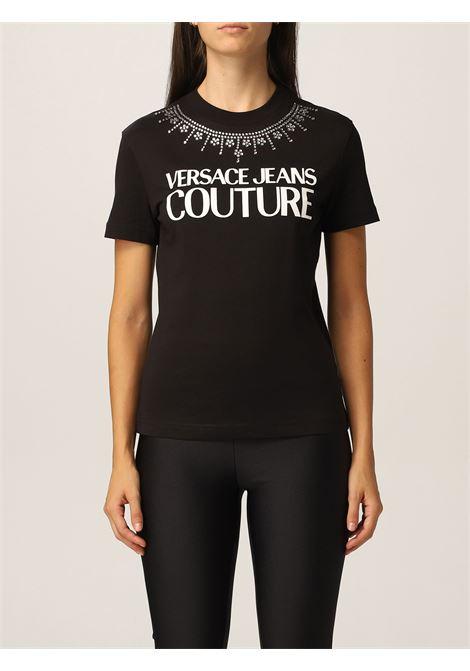 T-shirt strass VERSACE JEANS | T-shirt | 71HAHG03899