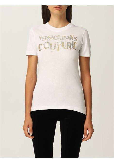 T-shirt glitter VERSACE JEANS | T-shirt | 71HAHT02G03
