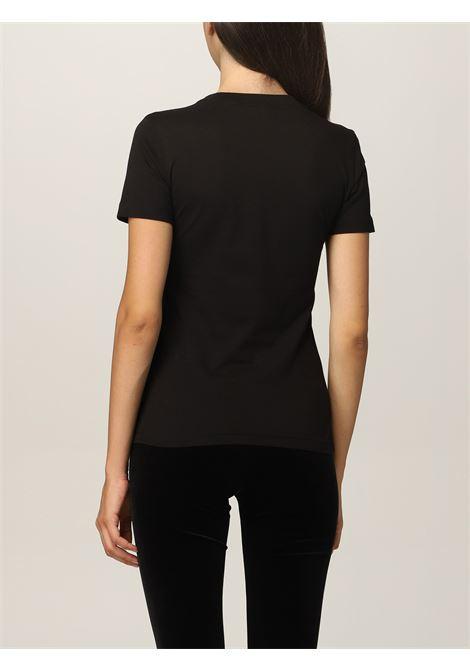 T-shirt glitter  VERSACE JEANS | T-Shirts | 71HAHT02G89