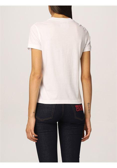 T-shirt glitter multicolor VERSACE JEANS | T-shirt | 71HAHT07003