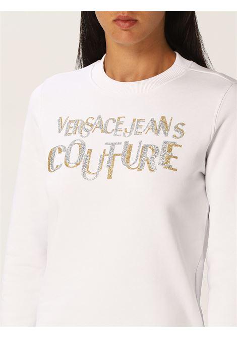 Sweatshirt logo lurex VERSACE JEANS | Sweatshirts | 71HAIT02G03