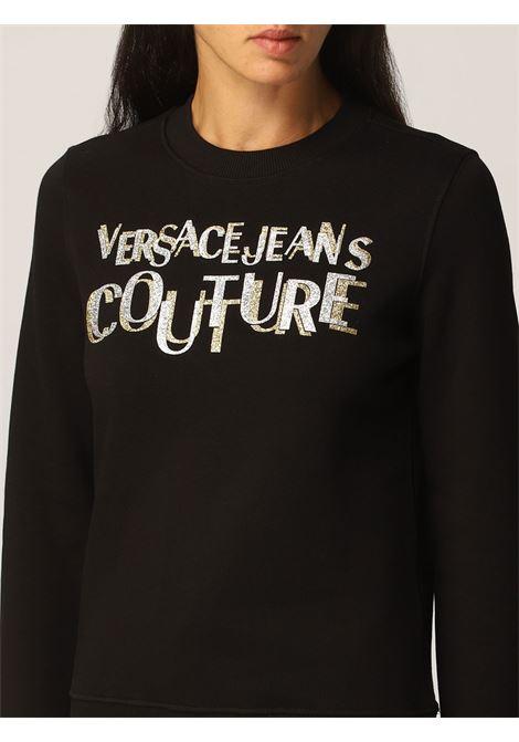Sweatshirt logo lurex  VERSACE JEANS | Sweatshirts | 71HAIT02G89