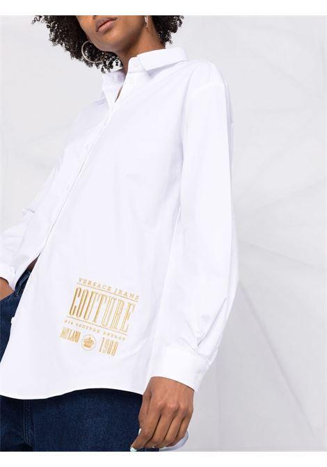 Camicia ricamo baroque VERSACE JEANS | Camicie | 71HAL223003
