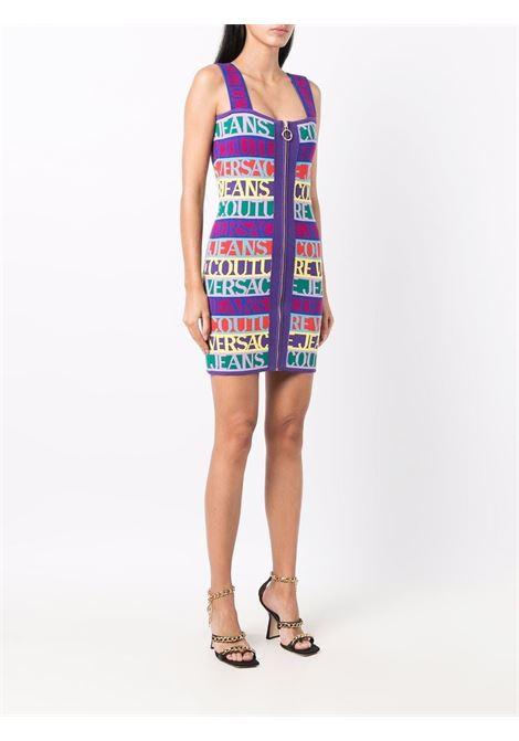 Dress jacquard  logomania VERSACE JEANS | Dresses | 71HAO824983