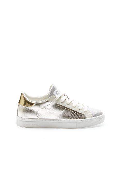 Sneakers laminated platinum CRIME LONDON | Sneakers | 25603PP3B26
