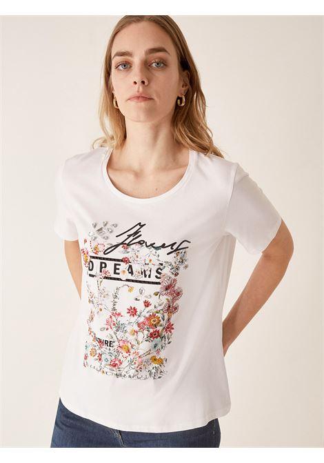 T-shirt flowers ELENA MIRO' | Tshirts Comfy | G194L088P501
