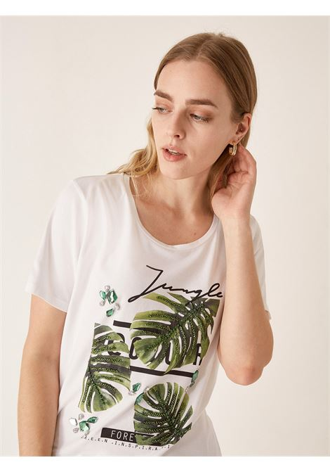 T-shirt jungle ELENA MIRO' | Tshirts Comfy | G194L088P5R1