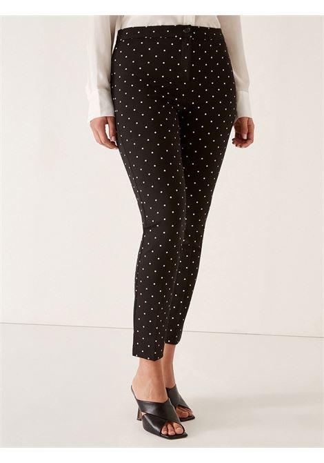 Pantalone pois ELENA MIRO' | Pantaloni Comfy | P103Y0951501