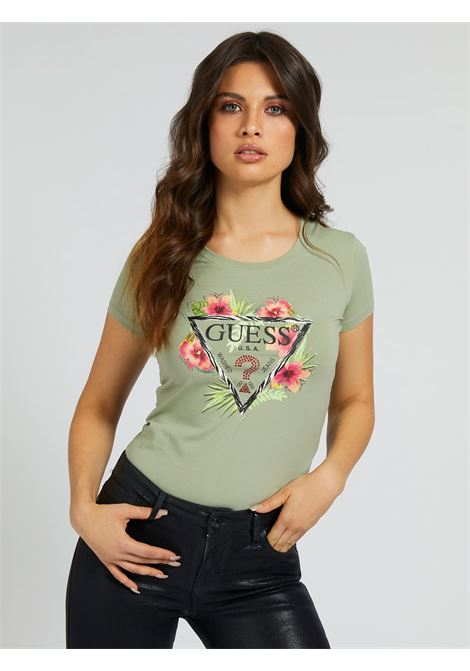 t-shirt rebecca guess GUESS | T-shirt | W1GI0NJ1311G8CQ