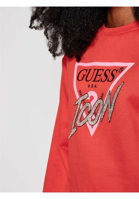 felpa icon fleece guess GUESS | Felpa | W1RQ04K68I0G5N1