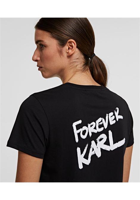 t-shirt forever karl KARL LAGERFELD | T-shirt | 205W1702,21999