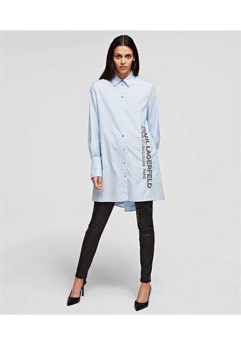 camicia poplin karl KARL LAGERFELD | Camicie | 211W1602303