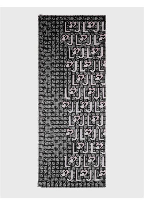 foulard logo heart liu jo LIU JO | Foulards | 2A1057T030022222