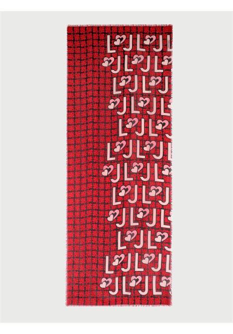 Foulard logo heart liu jo LIU JO | Foulards | 2A1057T030091664