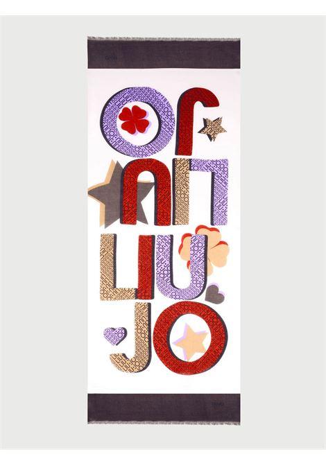 Foulard logo star liu jo LIU JO | Foulards | 2A1060T030001065