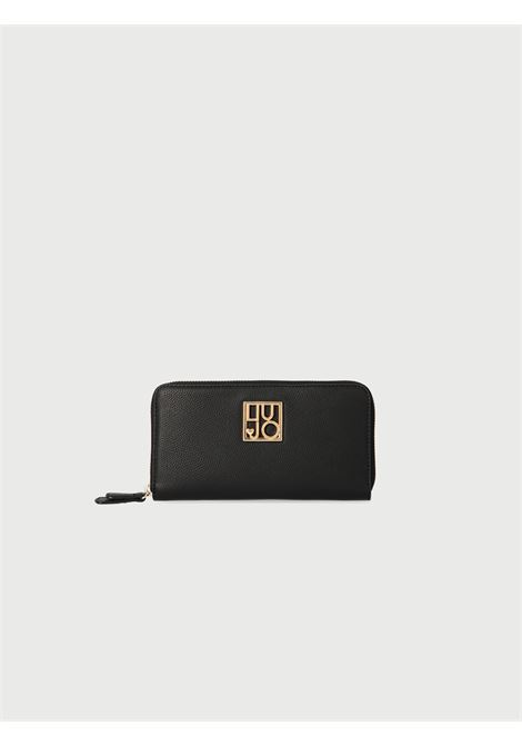 portafoglio logo liu jo LIU JO | Portafogli | AA1120E001722222