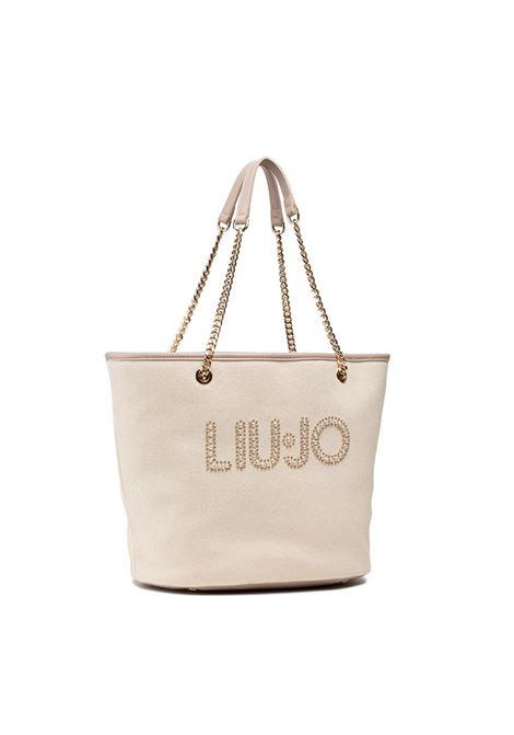 shopper in cotone liu jo LIU JO | Borse | AA1326T694860924