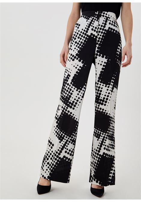 pantalone mix pois LIU JO | Pantaloni | CA1194T2455T9629