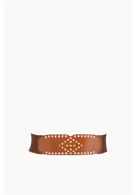 cintura bustier con borchie LIU JO | Cinture | UA1182T0300T9913