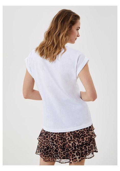 t-shirt liu jo logo animalier LIU JO | T-shirt | WA1327J009411111