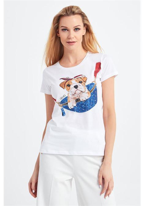t.shirt dog liu jo LIU JO | T-shirt | WA1495J5003T9759