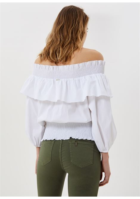 blusa volants liu jo LIU JO | Bluse | WA1576T417311111