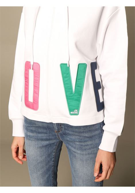 felpa colorful lettering love moschino LOVE MOSCHINO | Felpa | W3381 80 M4266A00