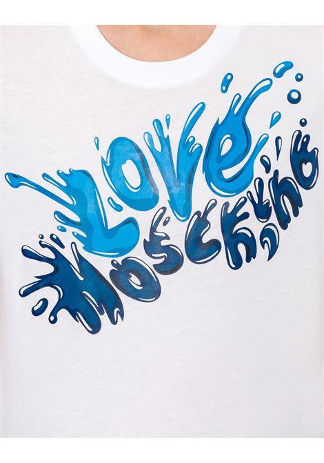 T-shirt logo splash LOVE MOSCHINO | T-shirt | W4F15 2Z M38764023