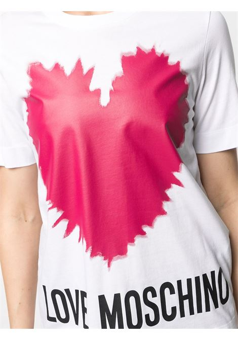 t-shirt explosion heart love moschino LOVE MOSCHINO | T-shirt | W4F15 3A M3876A00