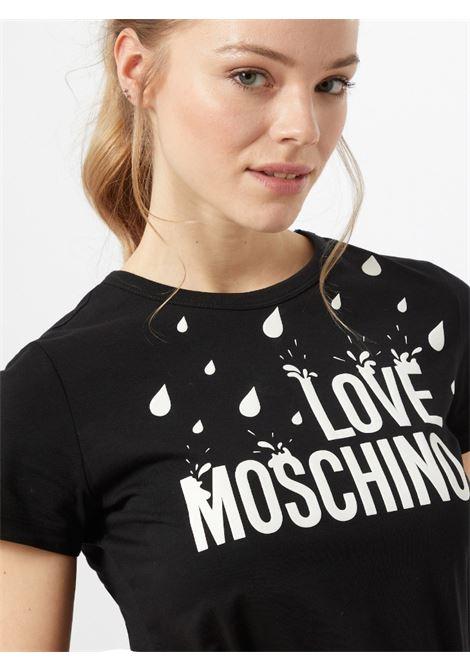 t-shirt splash love moschino LOVE MOSCHINO | T-shirt | W4F73 1L M3876C74
