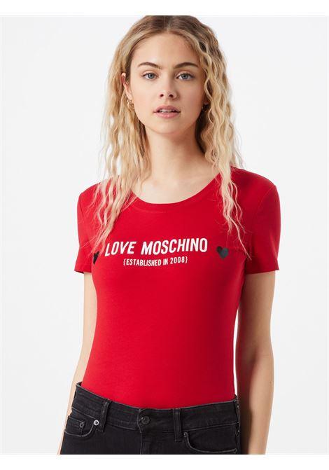 LOVE MOSCHINO | T-Shirts | W4H19 04 E1951P05