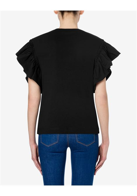 T-shirt punk embroidery LOVE MOSCHINO | T-shirt | W4H41 01 M3876C74