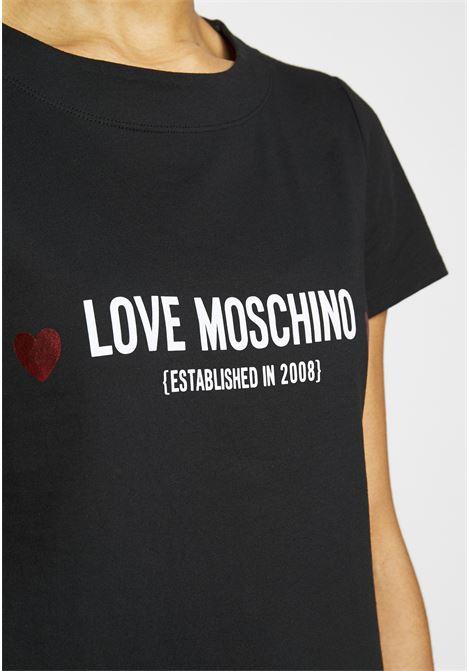 abito logo heart love moschino LOVE MOSCHINO | Abiti | W5929 13 M3876C74