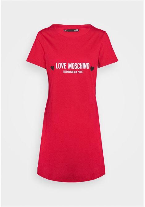 abito logo heart love moschino LOVE MOSCHINO | Abito | W5929 13 M3876P05