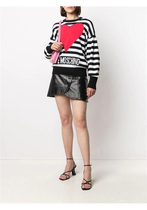 maglia righe heart love moschino LOVE MOSCHINO | Maglie | WS63G 10 X1404C74