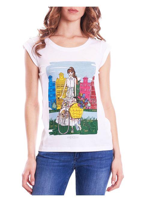 t-shirt city LUCKYLU | T-shirt | TS09JJ0001