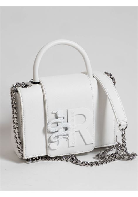 borsa tulip john richmond RICHMOND ACCESSORIES | Borsa | RWP21302BOWHITE