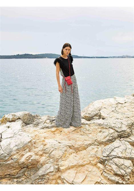 Pantalone stripe SFIZIO | Pantaloni | 21FE130049541STRIPE ZEEBRA PRINT
