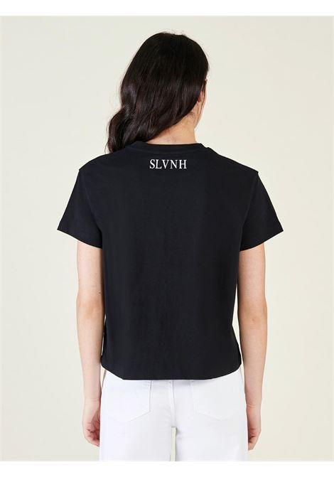 t-shirt gomlu silvian heach SILVIAN HEACH | T-shirt | PGP21654TSOFBLACK