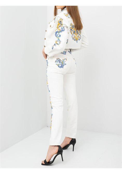 slim bull print VERSACE JEANS | Jeans | A1HWA0SPE70