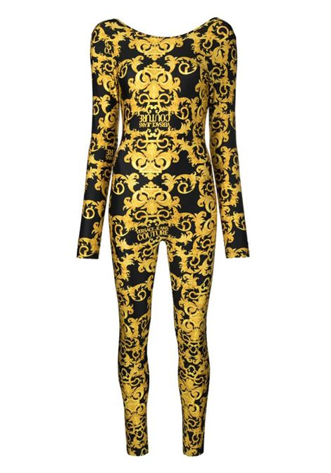 tuta fantasia baroque versace jeans couture VERSACE JEANS | Tute | A7HWA176899