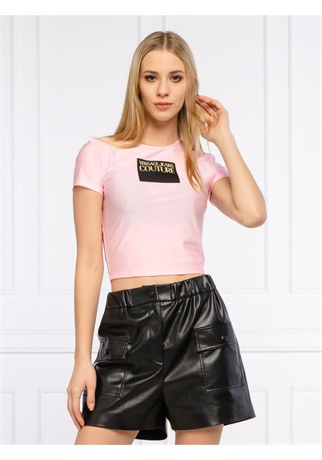 t-shirt shiny lycra VERSACE JEANS | T-shirt | B2HWA703402
