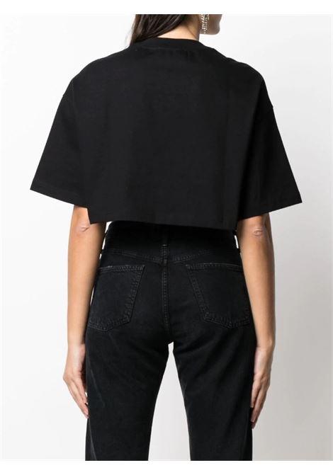 t-shirt crystal jersey VERSACE JEANS | T-shirt | B2HWA7PB899